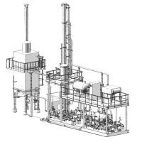 блок регенерации метанола